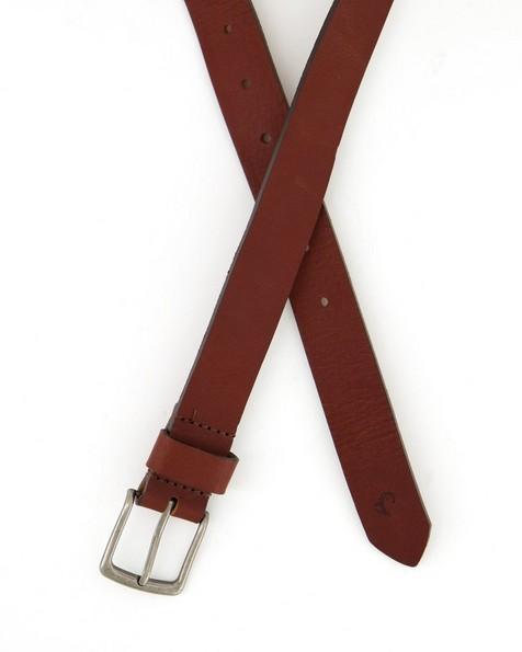 Old Khaki Women's Kodiak Worn Leather Basic Belt -  tan