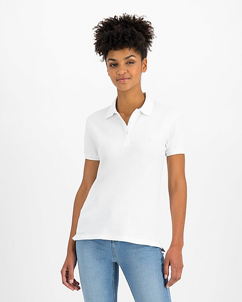 Old Khaki Women's Eve Golfer -  white