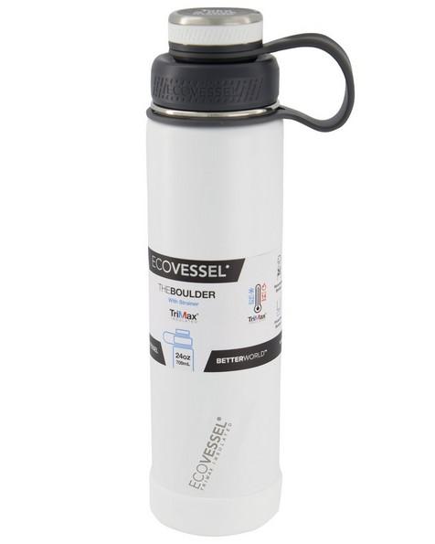 Ecovessel Boulder 24 -  white