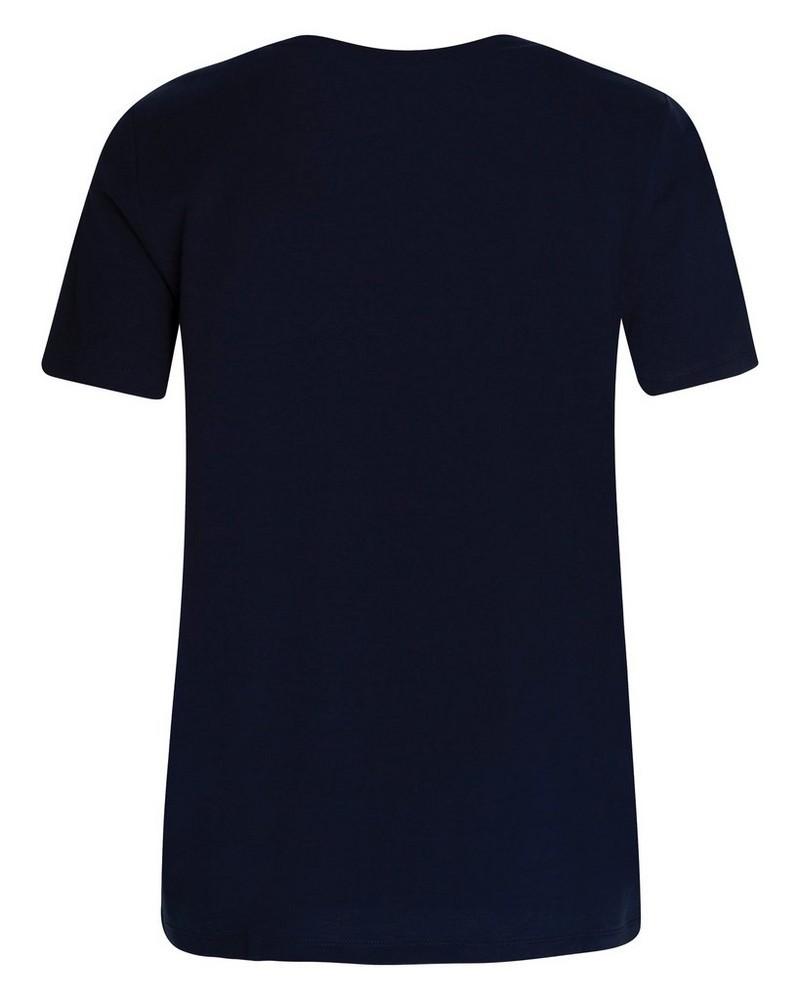 Rare Earth Women's Almond T-Shirt -  blue