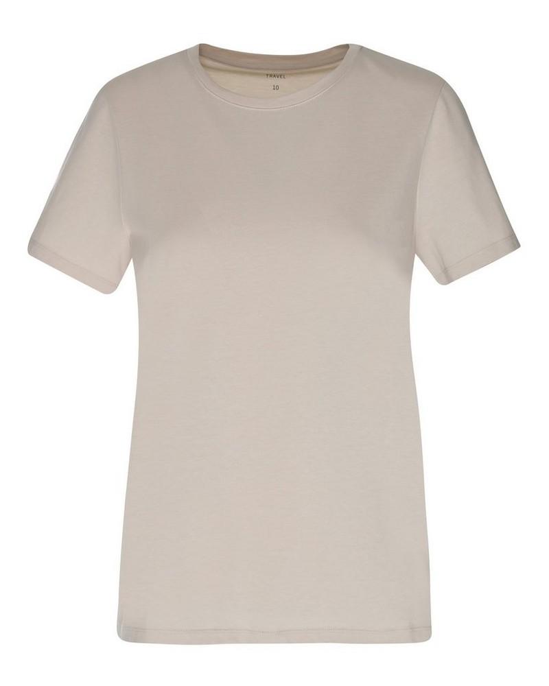 Rare Earth Women's Almond T-Shirt -  stone