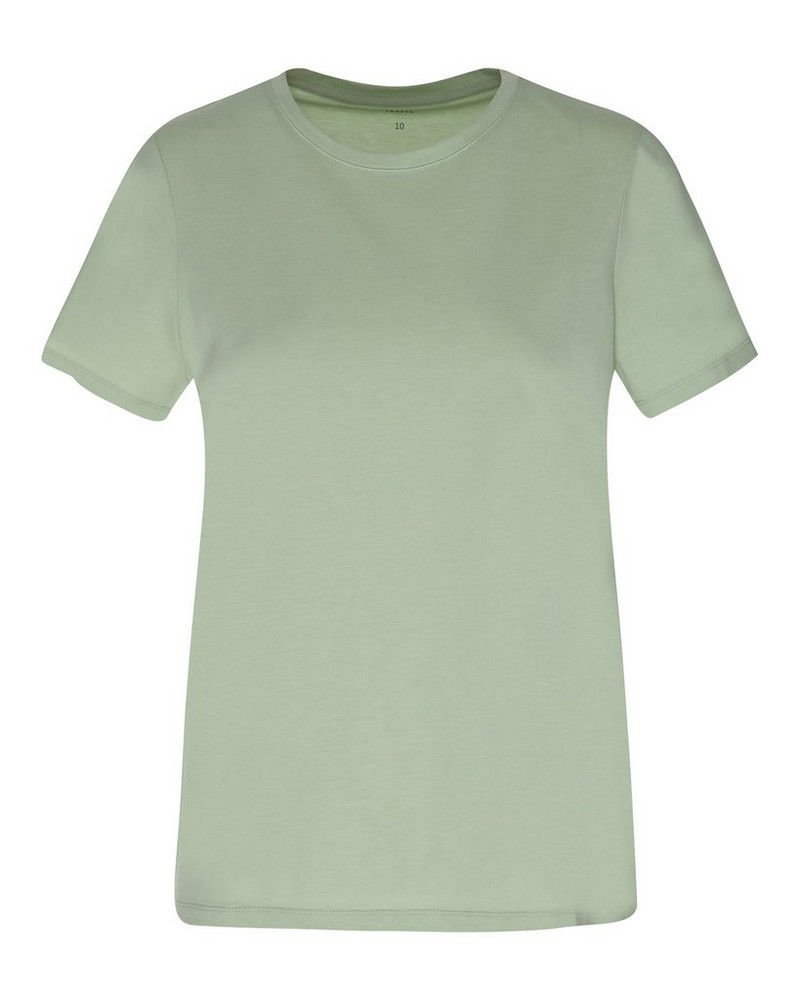 Rare Earth Women's Almond T-Shirt -  green