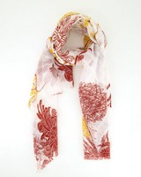 Rare Earth Women's Franny Floral Scarf -  milk-pink