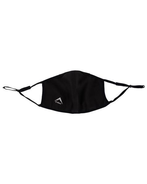 K-Way Softshell2 Fabric Facemask -  black-navy