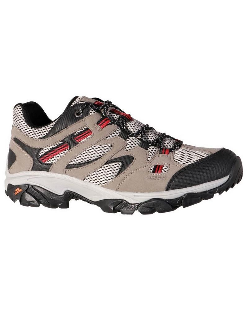 Hi-Tec Ravus Vent Lite Low Shoe Mens -  stone