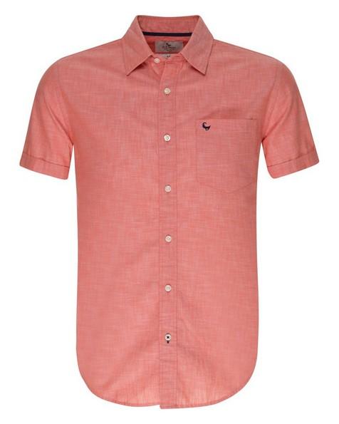Old Khaki Men's Bongani Slim Fit Shirt -  red