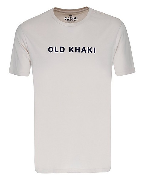 Old Khaki Men's Jonathan Relaxed Fit T-Shirt -  stone