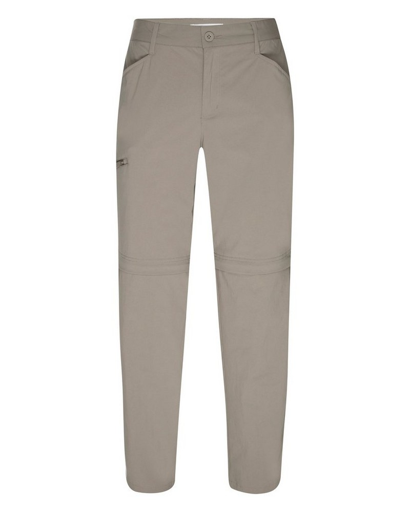 Rare Earth Women's Kylie Zip-Off Pants -  taupe