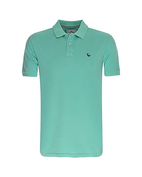 Old Khaki Men's Howard 3 Relaxed Fit Golfer -  green-blue