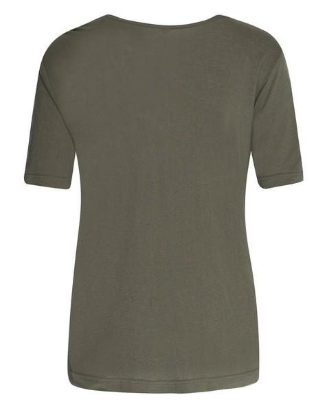 Rare Earth Women's Rose T-Shirt -  olive
