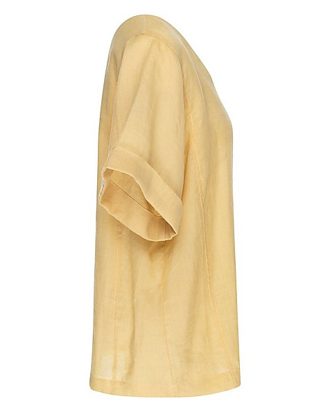 Rare Earth Women's Blossom Blouse -  yellow