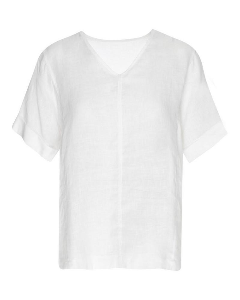 Rare Earth Women's Blossom Blouse -  white