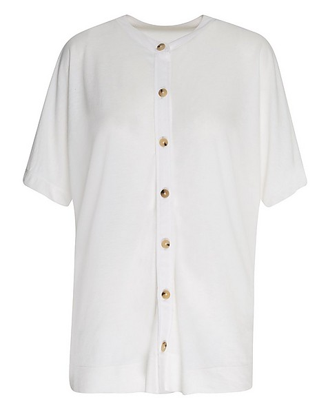 Rare Earth Women's Ashton Knit Top -  white