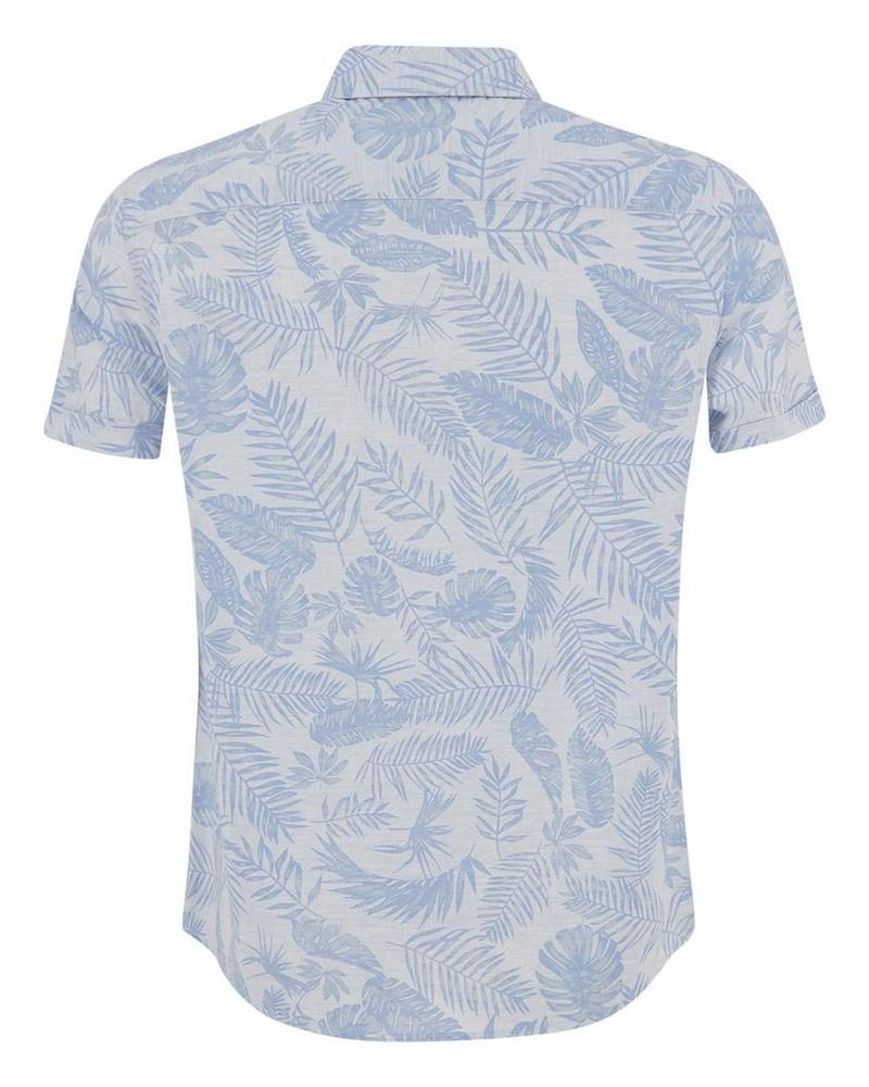 Old Khaki Men's Anthony Slim Fit Shirt -  blue