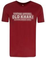 Old Khaki Men's Binx Standard Fit T-Shirt -  red