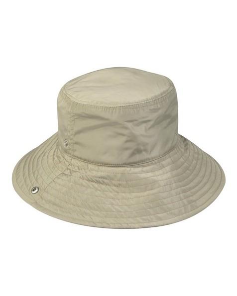 Amelda Duo Tone Reversible bucket hat -  green-lightpink