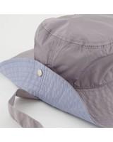 Amelda Duo Tone Reversible bucket hat -  grey