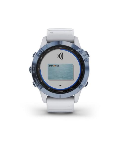 Garmin Fenix 6 Pro Solar -  blue-white
