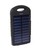 Red-E RS80 II Solar LED 8 000 mAh Power Bank -  black