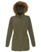 Old Khaki Women's Franscesca Parka Jacket -  olive