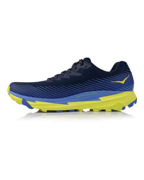 Hoka Torrent 2 Shoe Mens -  navy-yellow