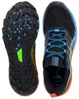Asics Men's FujiTrabuco 9 Shoe -  black-blue