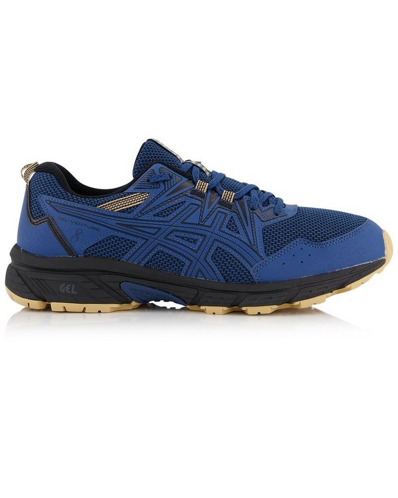 Asics Men's Gel-Venture 8 Shoe -  blue-khaki