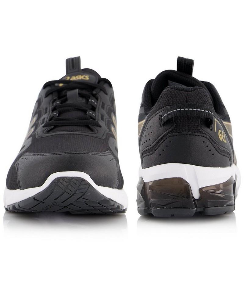 Asics Men's Gel Quantum 90 Sneaker -  black-gold