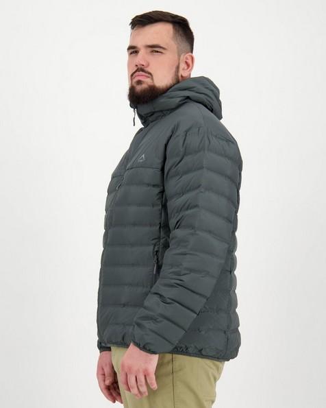 K-Way Men's Creek Hooded Re:Down Jacket -  graphite