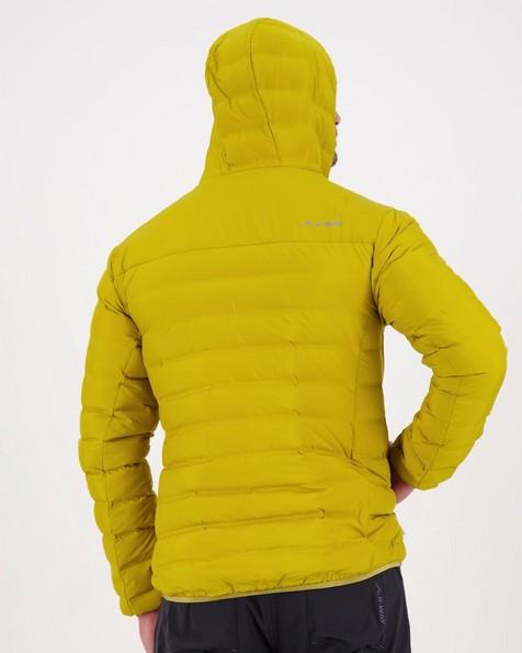 K-Way Men's Creek Hooded Re:Down Jacket -  ochre