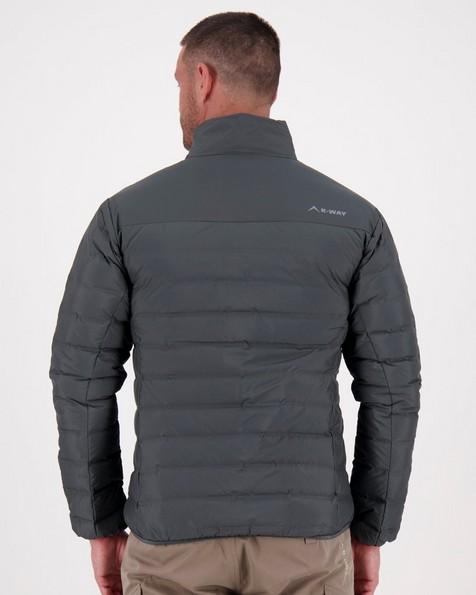K-Way Men's Creek Re:Down Jacket -  graphite