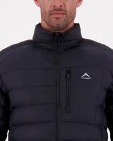 K-Way Men's Ridge Eco Padded Jacket -  black
