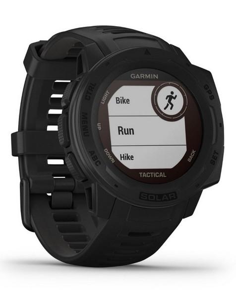 Garmin Instinct Solar Fitness Watch -  graphite