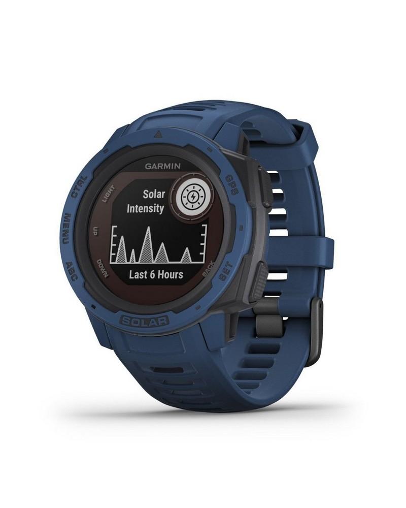 Garmin Instinct Solar Fitness Watch -  blue