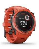 Garmin Instinct Solar Fitness Watch -  orange