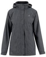K-Way Gaia 3 in 1 Jacket (Lds) -  graphite-plum