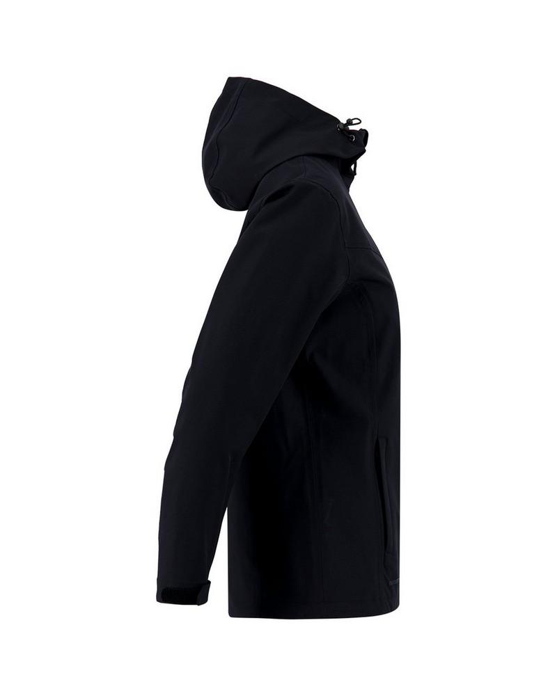 K-Way Solstice Rain Jacket (Lds) -  black