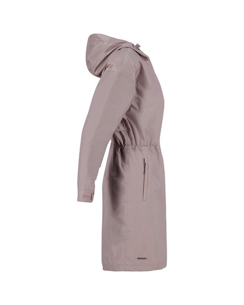 K-Way Women's Spire Rain Coat -  dustypink
