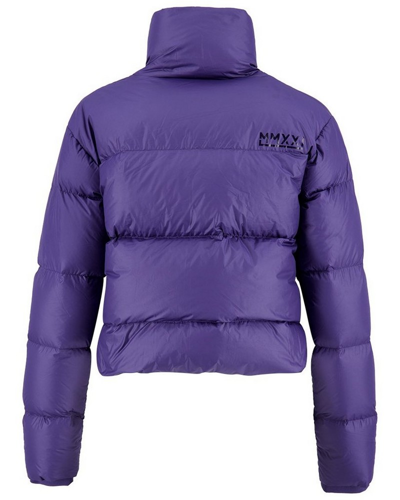 K-Way MMXXI Women's Ivy Down Bomber Jacket -  indigo