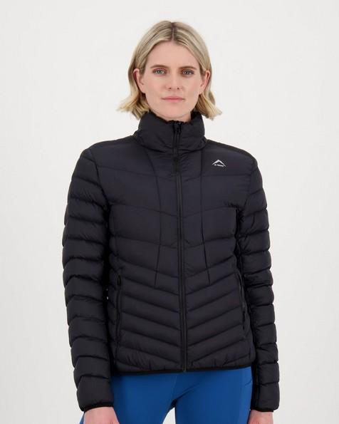 K-Way Fauna Eco Padded Jacket Lds -  black
