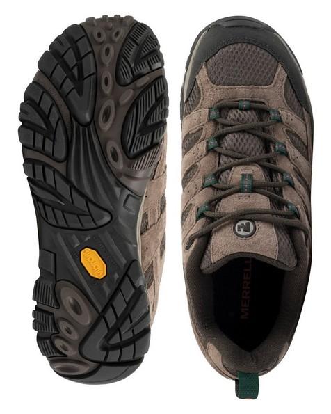 Merrell Men's Moab 2 Ventilator Hiking Shoes -  taupe-grey