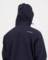 K-Way Men's Stader Softshell Hoody -  navy-graphite