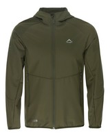 K-Way Men's Softshell Jacket -  olive