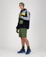 K-Way MMXXI Men's Travis Fleece Jacket -  silver-navy