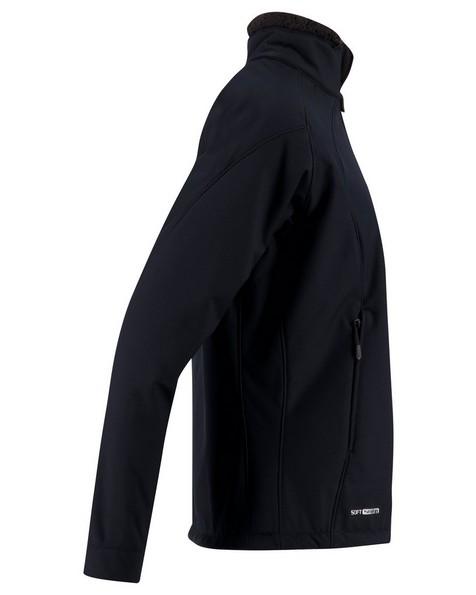 K-Way Women's Tianna Softshell Jacket -  black-black