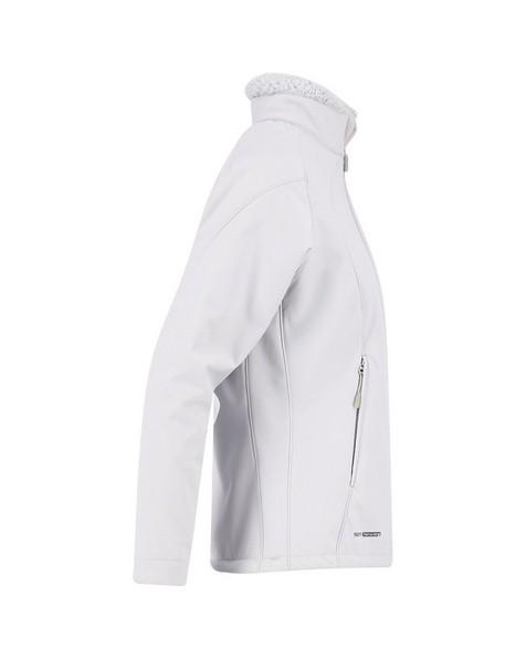K-Way Women's Tianna Softshell Jacket -  silvergrey-silver