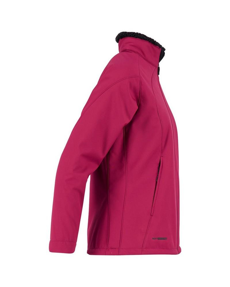 K-Way Women's Tianna Softshell Jacket -  berry-black