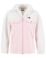 K-Way MMXXI Women's Trucker Jacket -  lightpink-white