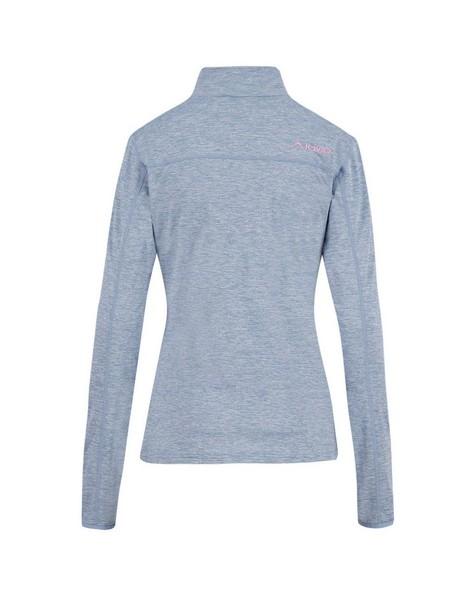 K-Way Women's Jade Quarter Zip Fleece Jacket -  iceblue-iceblue
