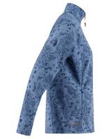 K-Way 40YY Women's Mira Softshell Jacket  -  midblue-copper